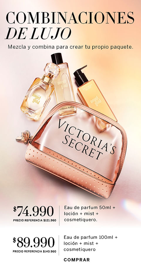 Combinaciones de Lujo   Victoria Secret Chile